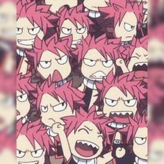 Natsu; TOO MANY NATSUS *person walks in* Let's be real, there are never too many Natsus