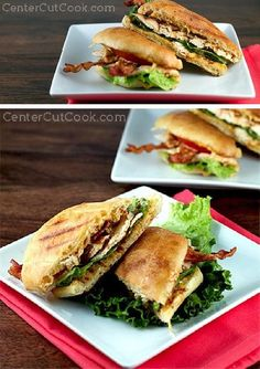 Spicy CHIPOTLE mayo takes a traditional CHICKEN CLUB SANDWICH to a whole new level of amazing!