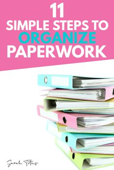 Tips for Organizing Paperwork Does the thought of organizing paperwork make you cringe? I'm a paper-hater, but I've found ways of overcoming that paper monster, and you can too! Tips for Organizing Paperwork Organizing Paperwork, Clutter Organization, Finance Organization, Home Organization Hacks, Paper Organization, Organizing Your Home, Organizing Paper Clutter, Organizing Ideas, Organising