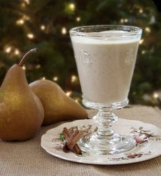 Dairy free eggnog recipe. Stevia instead of sugar and I'm all over this. That would make it low carb.