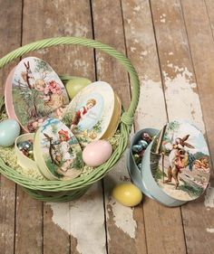 Nesting Eggs Treat Boxes from The Holiday Barn