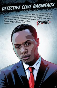 """Liv discovers what Detective Babineaux was doing before joining the police force in """"iZombie"""" episode """"Liv and Let Clive. Rob Thomas, Zombies, Izombie Tv Series, Meeting Room Booking System, Fiction, Fanart, Psychic Powers, Life Map, Ghost Busters"""