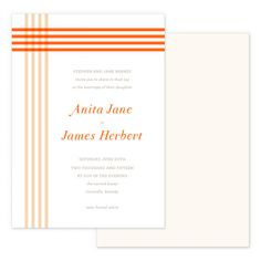 Summer Plaid Wedding Invitations   Smitten on Paper