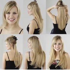 clip in hair extensions Hair extensions can seem like a foreign language, bonding, clip-in, synthetic, natural, Remy. Here's a quick overview to introduce you to this exciting new world.