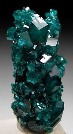 Dioptase - probably from Tsumeb, Namibia