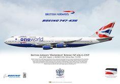 British Airways Oneworld Boeing 747-436 G-CIVP