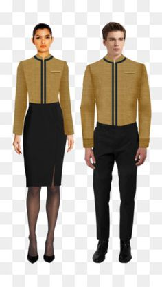 Office Uniform For Women, Chef Dress, Hotel Uniform, Restaurant Uniforms, Front Office, Blazer Outfits, Office Outfits, Formal Wear, Fire Lily