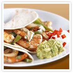 Shrimp Fajitas with Ponzu