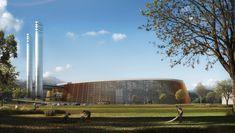 Gallery of Schmidt Hammer Lassen and Gottlieb Paludan to Design World's Largest Waste-to-Energy Plant in Shenzhen - 2