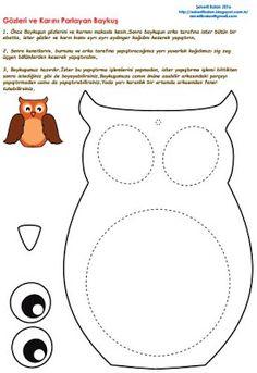 Şekerli Balon: Gözleri Parlayan Baykuş