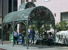 Tucson bus shelter