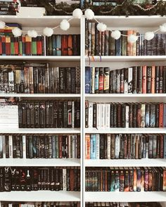 """5,109 Likes, 32 Comments - allissa • 25 • ontario (@abookishloveaffair) on Instagram: """"✨ . Is it bad that by the time I post a shelfie.. my shelves have already changed?! The TBR shelf…"""""""