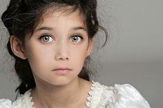Cute little girl with hazel eyes- RP character