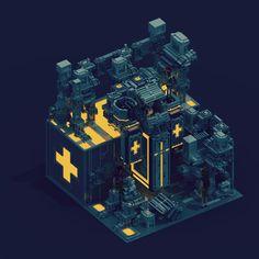 L'art du voxel, est-ce que vous connaissez ? Le voxel vient de la contraction de &qout;volumetric pixel&qout;, il s'agit de pixels en 3D auxquels on attribut des coordonnées afin de matérialiser des formes, des personnages, etc... Sir Carma, un français basé à Paris a commencé le Voxel Art il y a tout j…