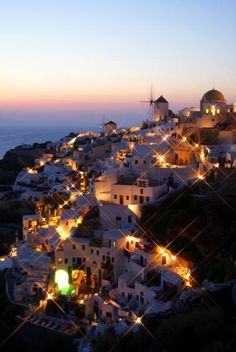 where i would wear my #PBXESCFALL dress: Greece --- Santorini, my ultimate dream vacay, in the ultimate dream little white dress to match the white villas of the island next summer 2014