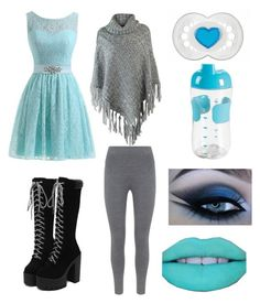 """""""Blue and Grey Little Girl 