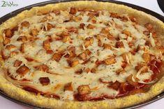 Gluten Free Vegan Buffalo Chicken Pizza Recipe