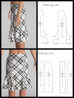 Gusseted skirt, This lace godet skirt can make a casual outfit fashionable or it can be worn for a special occasion. Skirt Patterns Sewing, Clothing Patterns, Pattern Drafting Tutorials, Sewing Clothes, Diy Clothes, Costura Fashion, Fashion Sewing, Fit Flare Dress, Clothing Items