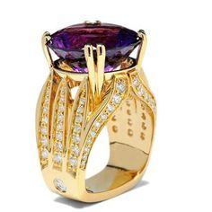 #coffinandtrout #jewelry #diamonds #gold #amethyst #unique #design #details #luxury #elegance #glamour #style #colors #sparkle #gems #beautiful #purple