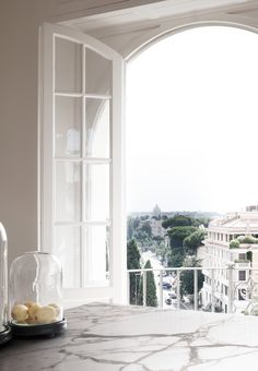 <p>This gorgeously elegant apartment by Italian architecture firm Quincoces Drago & Partners is located in Rome, in other of those dreamy, tree-lined streets. We were automatically drawn to the refined, soft hues and understated furnishings. The parquet flooring and architectural details of the arched windows are true of the old world, and if you look […]</p>