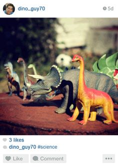 ...Ross would just show off his dinosaur collection. Constantly.
