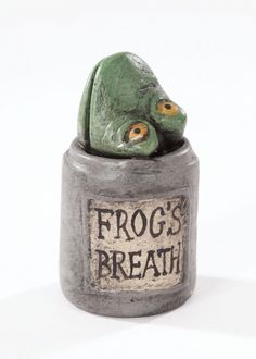 Frog's Breath jar from The Nightmare Before Christmas
