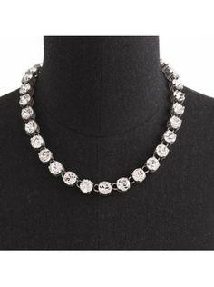 J Crew Swarovski Crystal Necklace $65