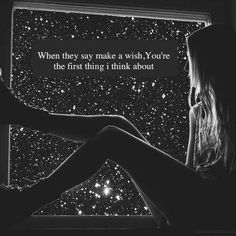 Love quotes for him Image Description .I can't believe there is a pin for this! I ALWAYS think of you when I make a wish! Wish Quotes, Cute Quotes, Amor Quotes, Heart Quotes, Crush Quotes For Him, Always Thinking Of You, Hopeless Romantic, Make A Wish, Beautiful Words