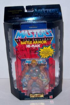 Masters of the Universe Commemorative Series II Battle Armor He-Man Figure (Limited Edition of 15,000) Masters of the Universe http://www.amazon.com/dp/B001FKVKUS/ref=cm_sw_r_pi_dp_Ng.Eub0SYXN7S