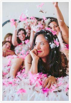 bachelorette party professional photo shoot