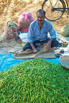 Food market in Assam