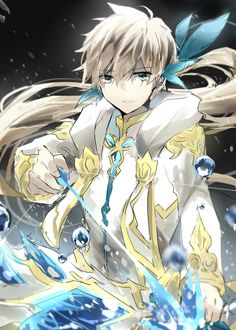 Zestiria - Sorey and Mikleo armatus Source - efu99.tumblr.com