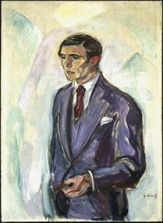 MUNCH - Leopold Wondt, 1916 Olio su tela, cm 100 x 72 Collezione privata © The Munch Museum / The Munch-Ellingsen Group by SIAE 2013