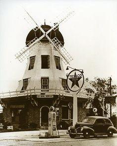Texaco Service Station Carey, Ohio - 1940