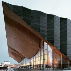 Kilden Center by ALA Architects. Noruega #camilakleinarquiteta #arquitetura #architecture