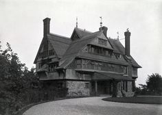 Henry Hobson Richardson's William Watts Sherman House, Newport