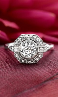Art Deco engagement ring (possibly from Brilliant Earth?)