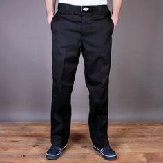 Czarne chinosy Dickies Original 874 Work Pant Black / www.brandsplanet.pl / #dickies streetwear