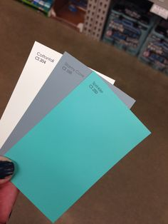 the gray is gonna be on 3 of my walls then the blue is gonna be on one of my walls