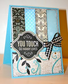 When will I learn ... or rather do..... What is this the 10th card I've pinned using strips????  And, what, I haven't done a card like this, YET??  I neeed to get with it!