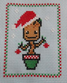 Merry Grootmas! Marvel Guardians of the Galaxy Christmas Groot Pattern…