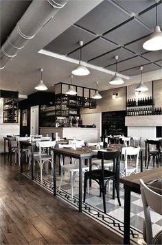 La Cucineria. Mon restaurant de référence : pour l'ambiance, la decoration, les couleurs, le style..