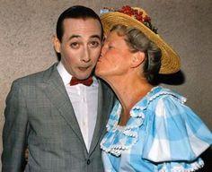 Pee Wee Herman And Minnie Pearl