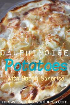 Dauphinoise potatoes are iconic and work perfectly with lots of dishes. I thought that this was delicious, especially with the bacon twist. I knew that my dauphinoise potatoes were a success when I…