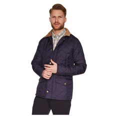 Barbour - New for 2015 Barbour Canterdale Quilt Jacket - Navy