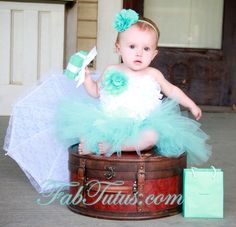 Couture flower girl and special occasion dresses, custom tutus, pettiskirts, rompers, accessories and decor - FabTutus Blog - How to sew a tutu with ribbon wrappedwaistban