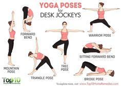 yoga poses to undo damage caused by sitting job