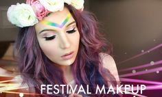 13 Easy Tutorials to Inspire Your Music Festival Makeup Look