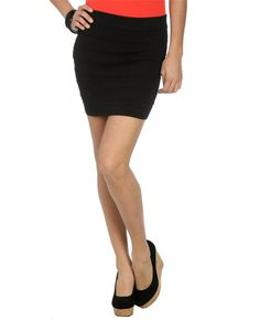 Sweater Body Con Skirt - Skirts