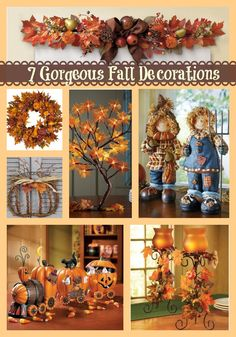 7 Gorgeous Fall Decorations